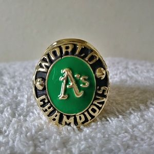 Oakland Athletics Championship Ring Vintage